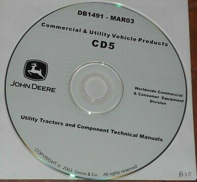 JOHN DEERE 4510 4610 4710 655 755 855 TRACTOR TECHNICAL SERVICE REPAIR MANUAL for sale  Shipping to India