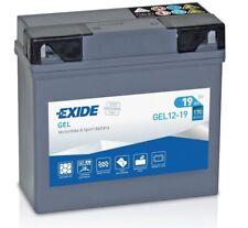 Batterie moto Gel BMw 51913 Exide GEL12-19 EXIDE 12V 19AH 170A 185x80x170mm