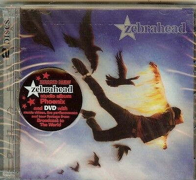 ZEBRAHEAD - PHOENIX - CD+DVD - NEW for sale  Shipping to South Africa