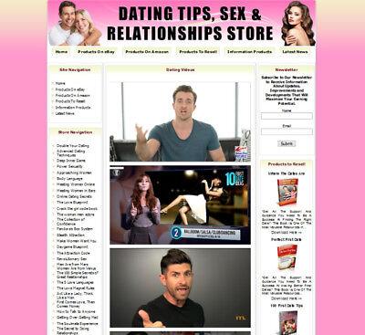 Dating Sex Relationships Store Business Website. Ebayamazonadsenseclickbank