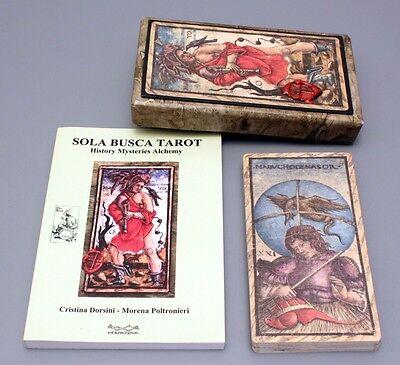 SOLA BUSCA TRUMPS TAROT CARD DECK & BOOK SET MENEGHELLO