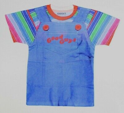Child's Play Chucky Good Guys Horror Costume T-Shirt New! (4C5](Baby Chucky Costumes)