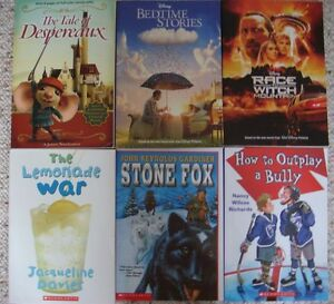 A lot of 6 books for Children / Young Readers