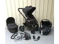 iCandy Peach 3 in JET !! FULL TRAVEL SYSTEM !!!