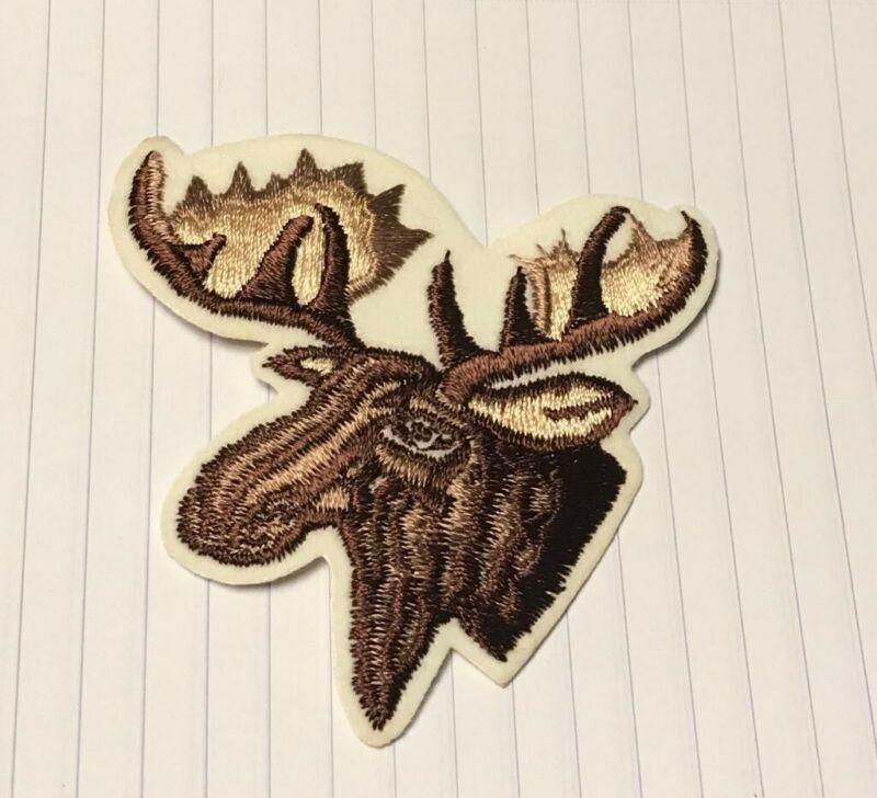Vintage Moose Patch, Moose Patch