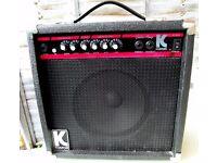Kustom KLA20 guitar amp