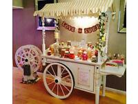 Happy Hearts Candy Cart - sweet cart for hire Dorset