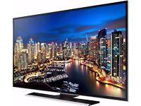 "Recent Samsung UE40HU6900U 40"" Smart 4K Ultra HD HDR TV, warranty"
