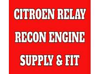 FORD TRANSIT / CITROEN RELAY ENGINE 2.2cc 2.4cc EURO 4 EURO 5 £1195 FREE DELIVERY