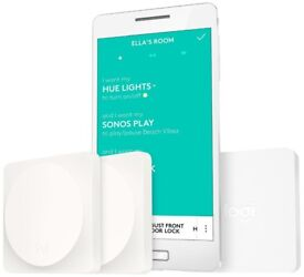 Logitech Pop Starter Kit 2 Switches & 1 Bridge White smart home New Warranty