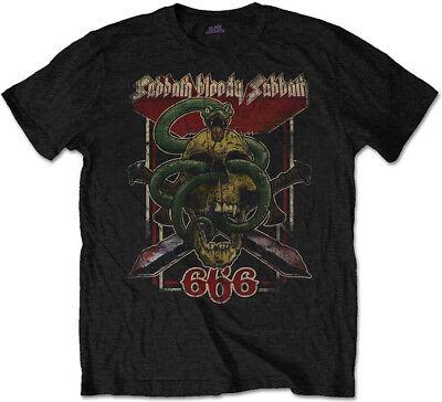 Black Sabbath 'Bloody Sabbath 666' T-Shirt - NEW & OFFICIAL!