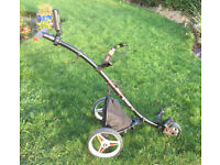 Motokaddy S1 Lite Push Trolley, 2017 Model, (Price Drop), (Great Condition), with Accessories
