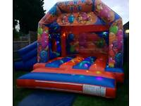 Bouncy castles for hire! Party/slide/cars/frozen/planes/minions/disco from as little as £39 a day!