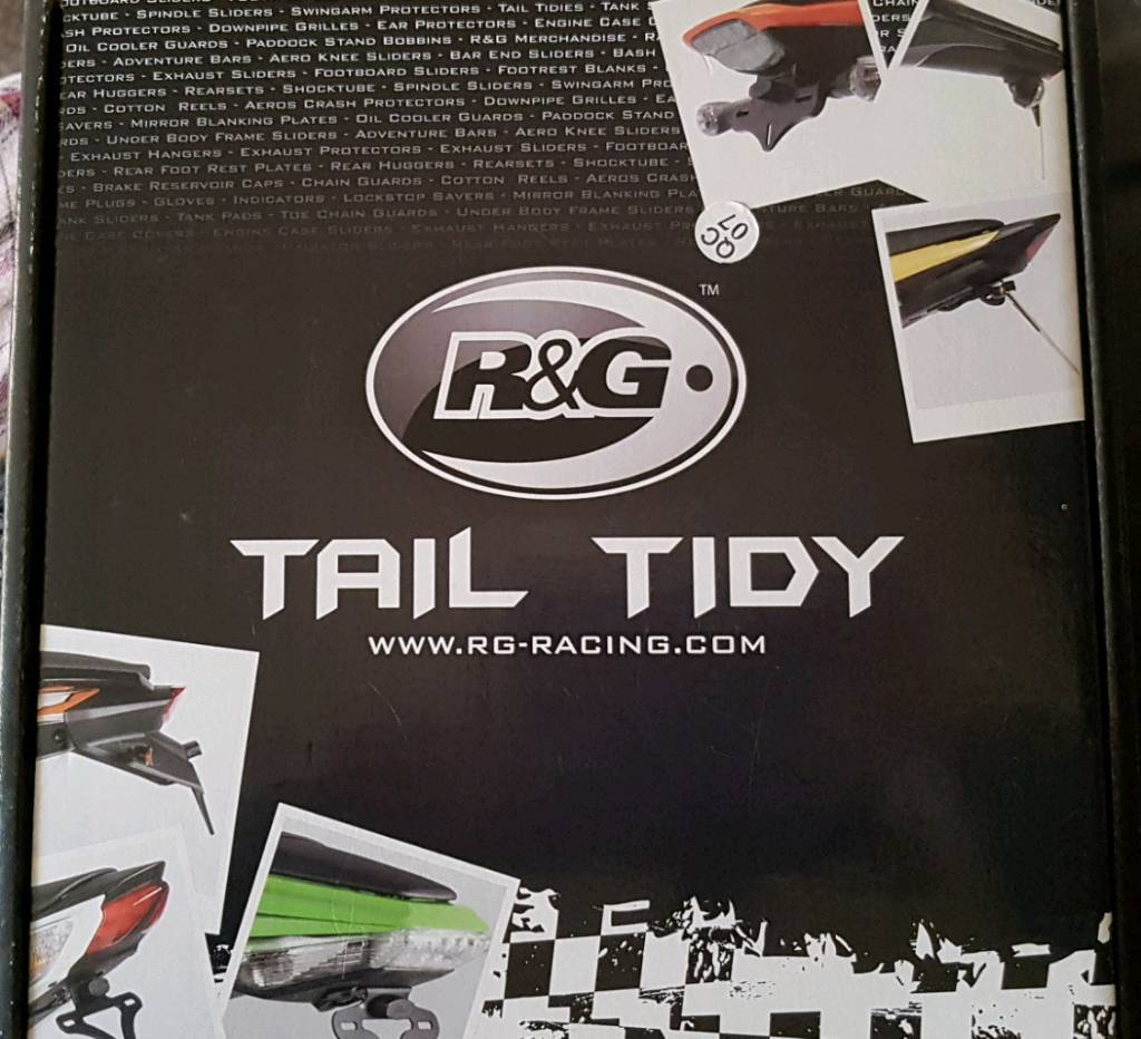 NEW R&G tail tidy for motorbikes