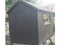 8x6 Wooden Shed