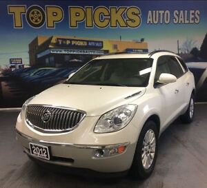 2012 Buick Enclave CXL, AWD, LEATHER, DUAL SUNROOFS!