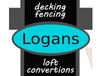 Logans Decking Fencing Loft or Garage Conversions Laminate Flooring Conservatories Joinery