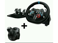 Logitech G29 Steering Wheel + Shifter + Pedals [PS3, PS4, PC] BRAND NEW! Worth over £250