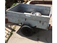 galvanized steel trailer