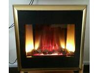 Integrated electric fire