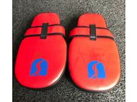 Boxing pads red/black rarely used
