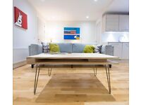 Scandi Inspired Plywood Coffee Table