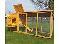 Large 8ft Chicken Coop for sale