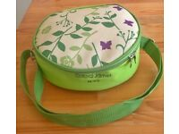 'Clifford James' green Picnic bag for Two - Never used