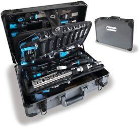 102 Piece Hand Tool Set Mechanics Kit Including Spanner &Socket Set - Ideal for Workshop & Garage