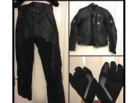 Ladies motor bike wear - leathers