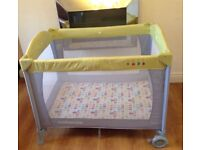 can post / Deliver Local £10 for Playpen £15 for Deluxe Mattress ... Mothercare Play pen Travel Cot