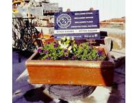 Reclaimed troughs