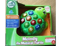 Leapfrog Melody the musical turtle, NEW in box