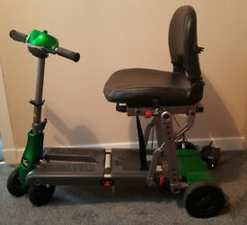 Fully foldable mobility scooter for sale. Excellent condition. Buyer must collect