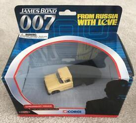 James Bond Chevrolet Truck Model 1:43 Scale