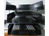 A4 Desk document organiser 3 trays
