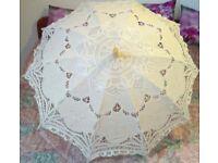 Iviry wedding umbrella