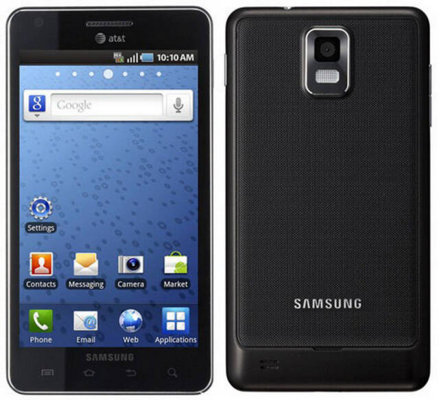 "Samsung Infuse i997 at&t Android 4.5"" Touch Smartphone GREAT condition 641185M"