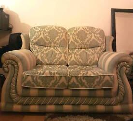 2 seater sofa and one armchair