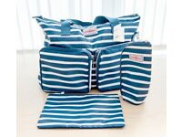 A new smart stripy Everyday Changing Bag. It has plenty of pockets for all baby's essentials.