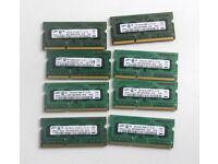 2GB (2 x 1GB PC3 8500S, DDR3) Laptop Memory (Samsung, Sodimm, Ram, Apple, Mac, laptop, Windows, PC)