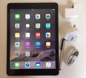 IPad Air 1st Gen, 16GB, Space Grey, Wifi + Cellular (Unlocked), Retina Display and Boxed