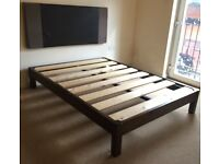 Double Bed Frame (without headboard)