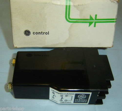 General Electric Reed Relay CR120PR111A22AA NEW