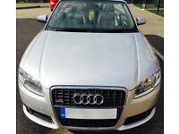 AUDI A4 SLINE CONVERTIBLE 2008 DIESEL 70K FASH RECENT SERVICE CAMBELT & WATERPUMP REPLACED BY AUDI