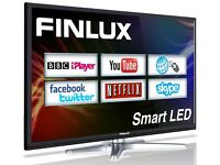 Finlux 40 / 42 inch Smart LED TV (Web Browsing Netflix Skype Freeview HD PVR 40F8073-T)