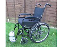 Wheelchair sunrise medical self propelled foldable comes with seat cushion