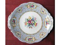 Queen Anne Gainsborough Fine Bone China Cake Plate/Sandwich Plate