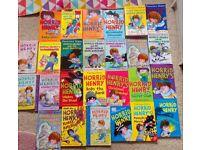 26 Childrens - Horrid Henry Paperback Reading Books