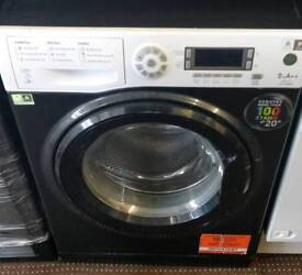 HOTPOINT 9KG WASHING MACHINE ECO TECHNOLOGY FREE DELIVERY AND WARRANTY